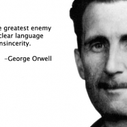 English Picture Quote of the Day: Orwell