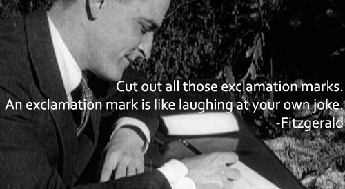 A Make Your English Work picture quote from Fitzgerald